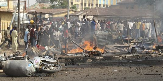 Suicide bombing during church service in Kaduna